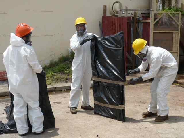 Gestión de asbesto