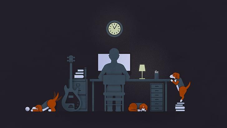 Perros en el trabajo disminuyen el estrés